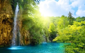 Earth - Waterfall Wallpapers and Backgrounds ID : 91838