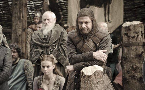 TV Show Game Of Thrones Eddard Stark Sean Bean Sansa Stark Sophie Turner Pycelle Julian Glover HD Wallpaper   Background Image