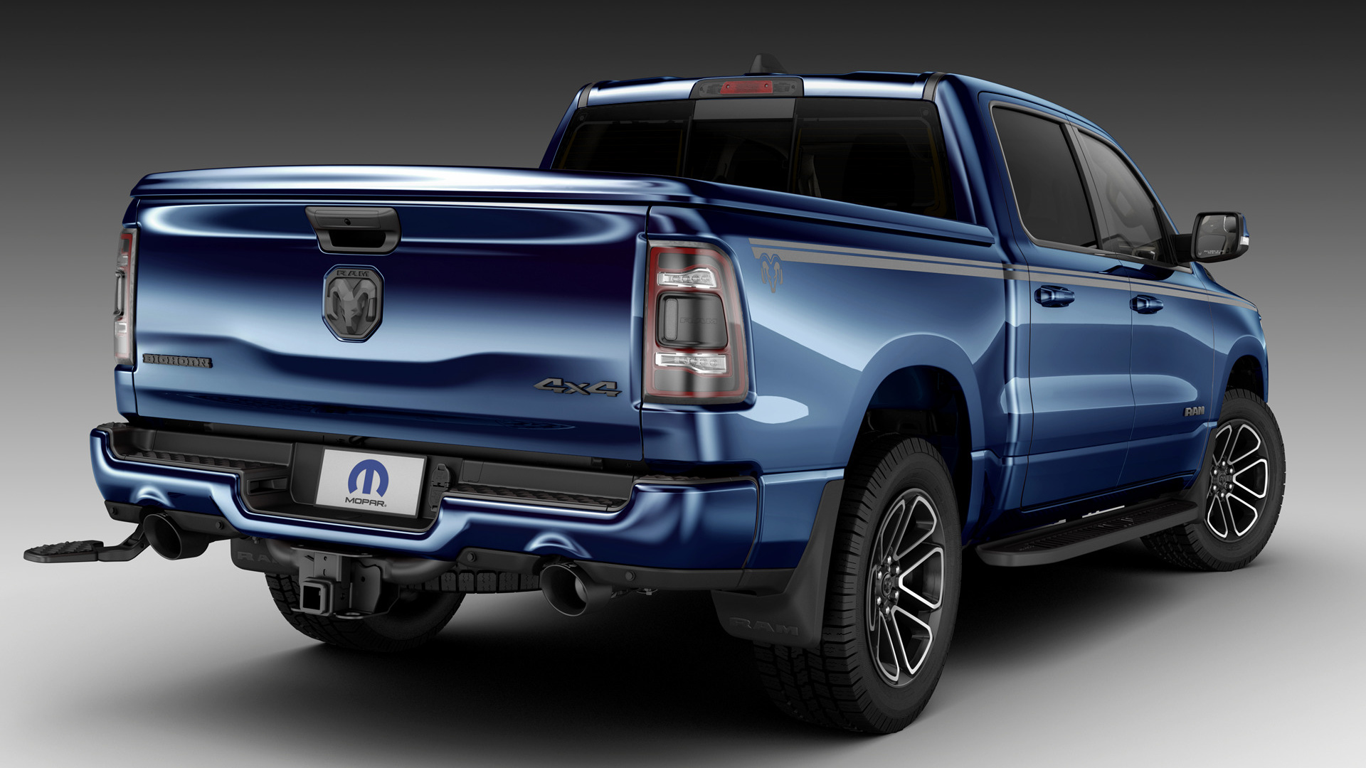 2019 ram 1500 big horn crew cab hd wallpaper | background image