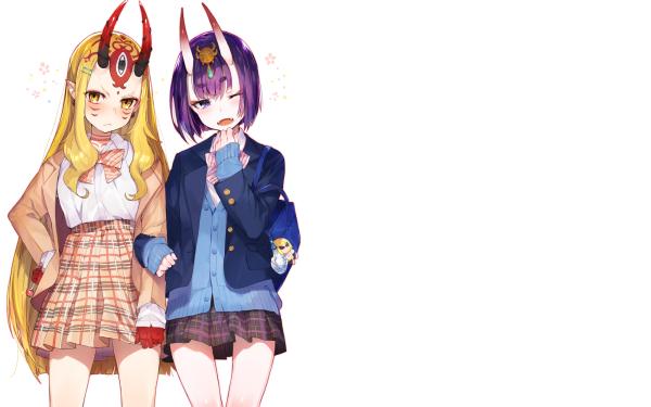 Anime Fate/Grand Order Fate Series Ibaraki Douji Sakata Kintoki Shuten Dōji HD Wallpaper | Background Image