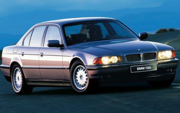 Vehicles BMW 7 Series BMW BMW 735i Luxury Car Sedan Full-Size Car Old Car Car HD Wallpaper | Background Image