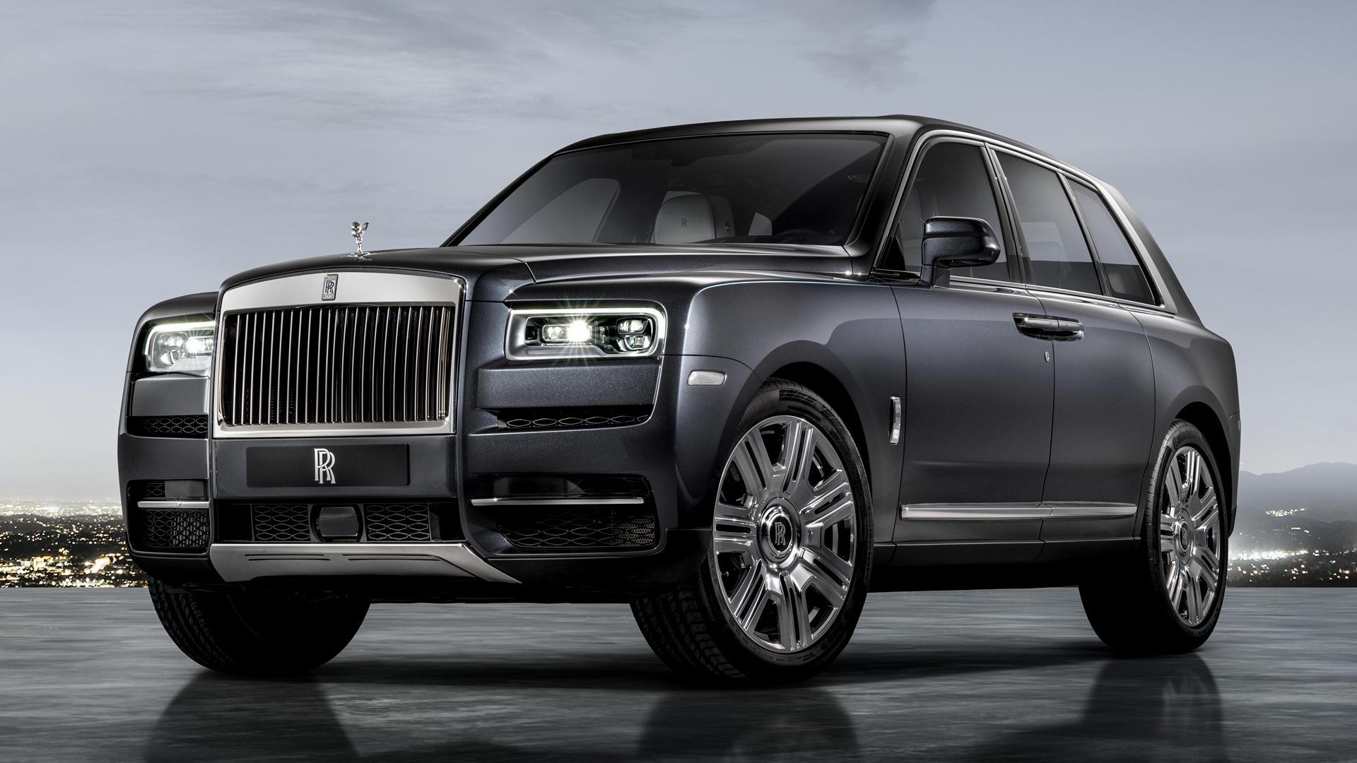 2018 Rolls Royce Cullinan Hd Wallpaper Background Image