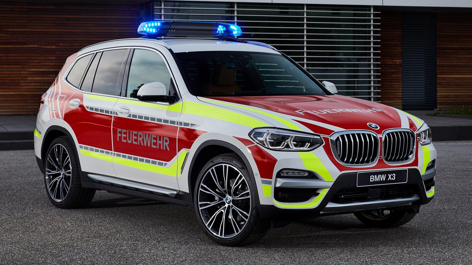 2018 BMW X3 Feuerwehr HD Wallpaper | Background Image ...