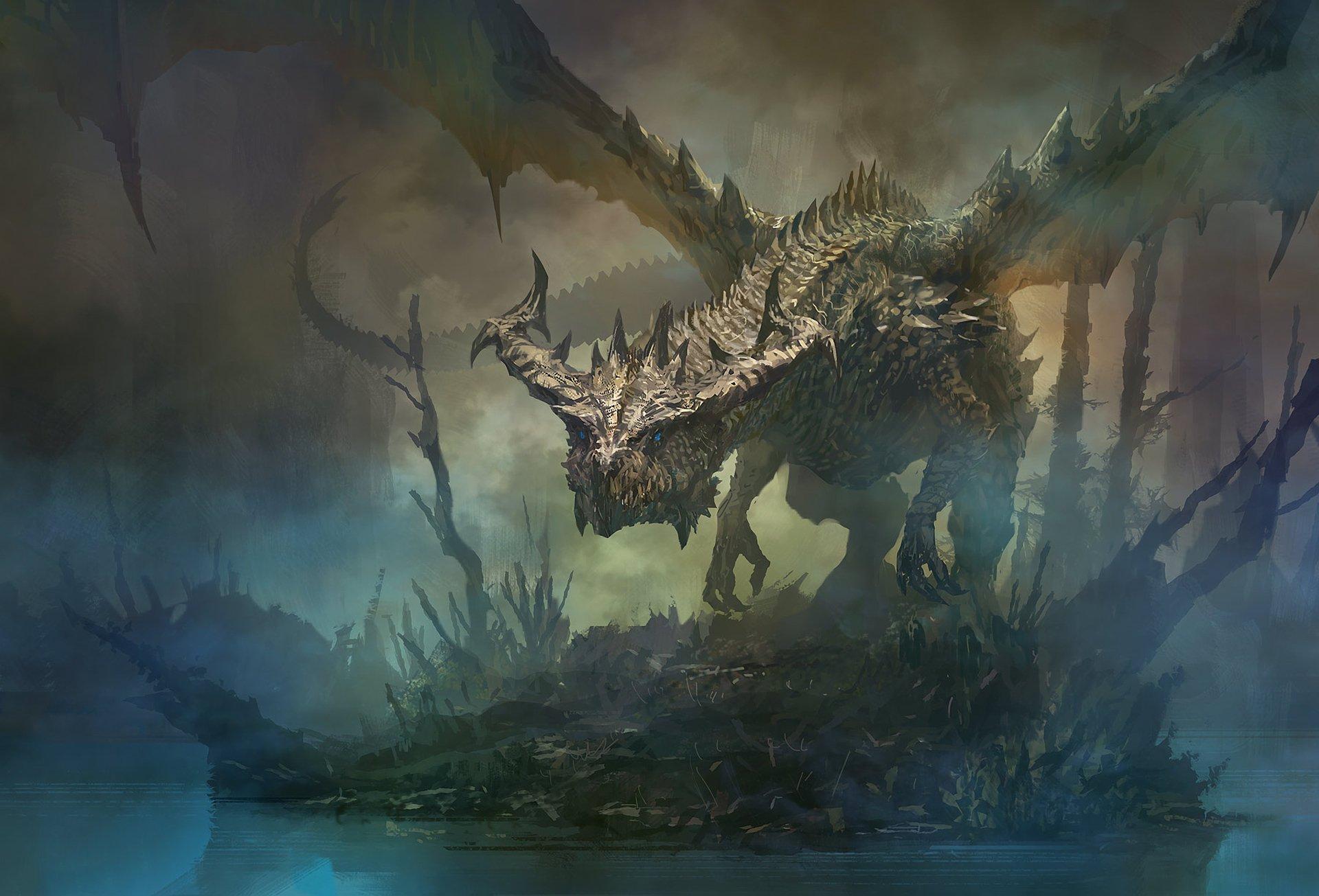 Fantasy - Dragon  Wallpaper
