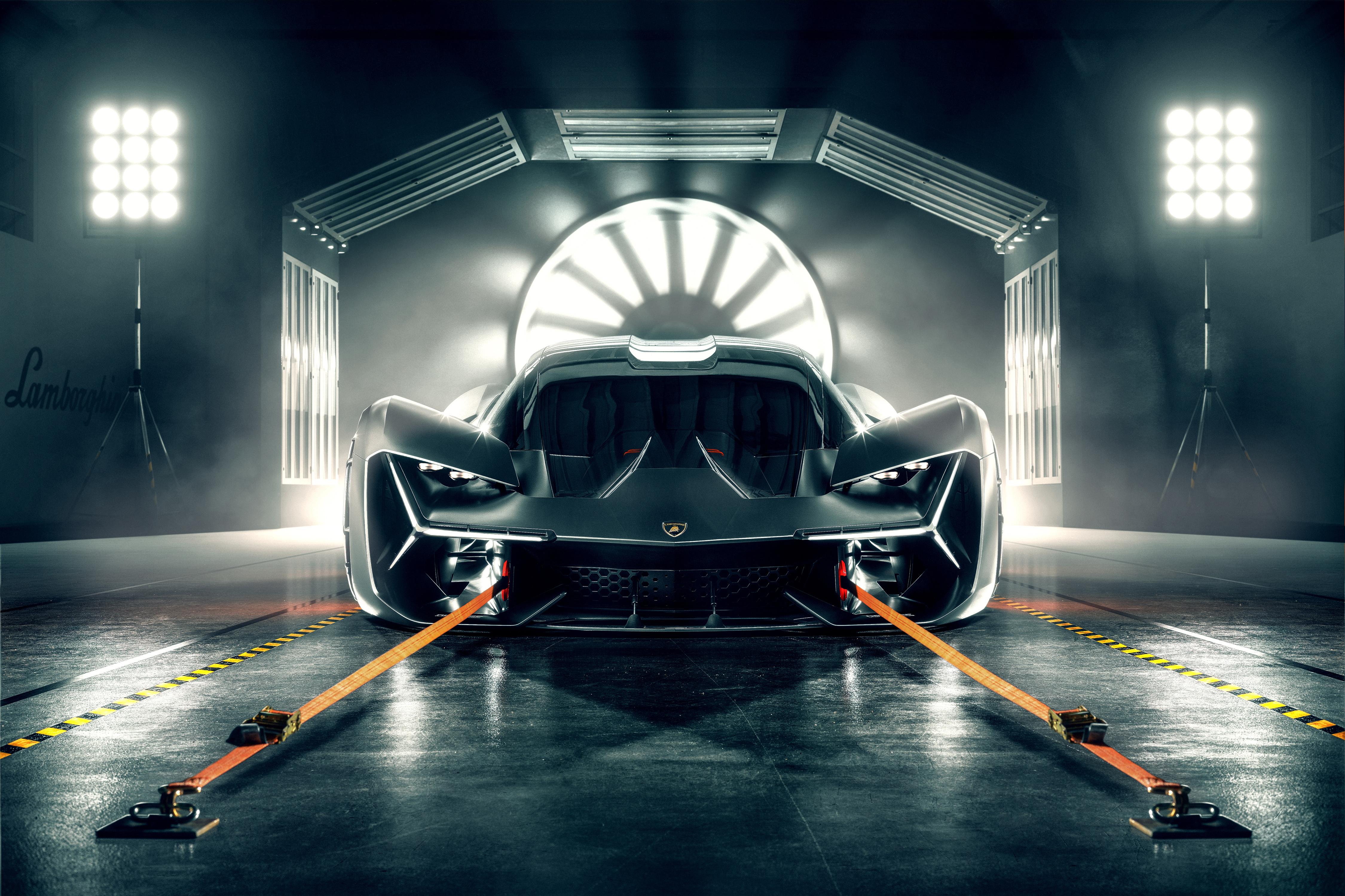 Lamborghini Terzo Millennio 4k Ultra Hd Wallpaper Background Image