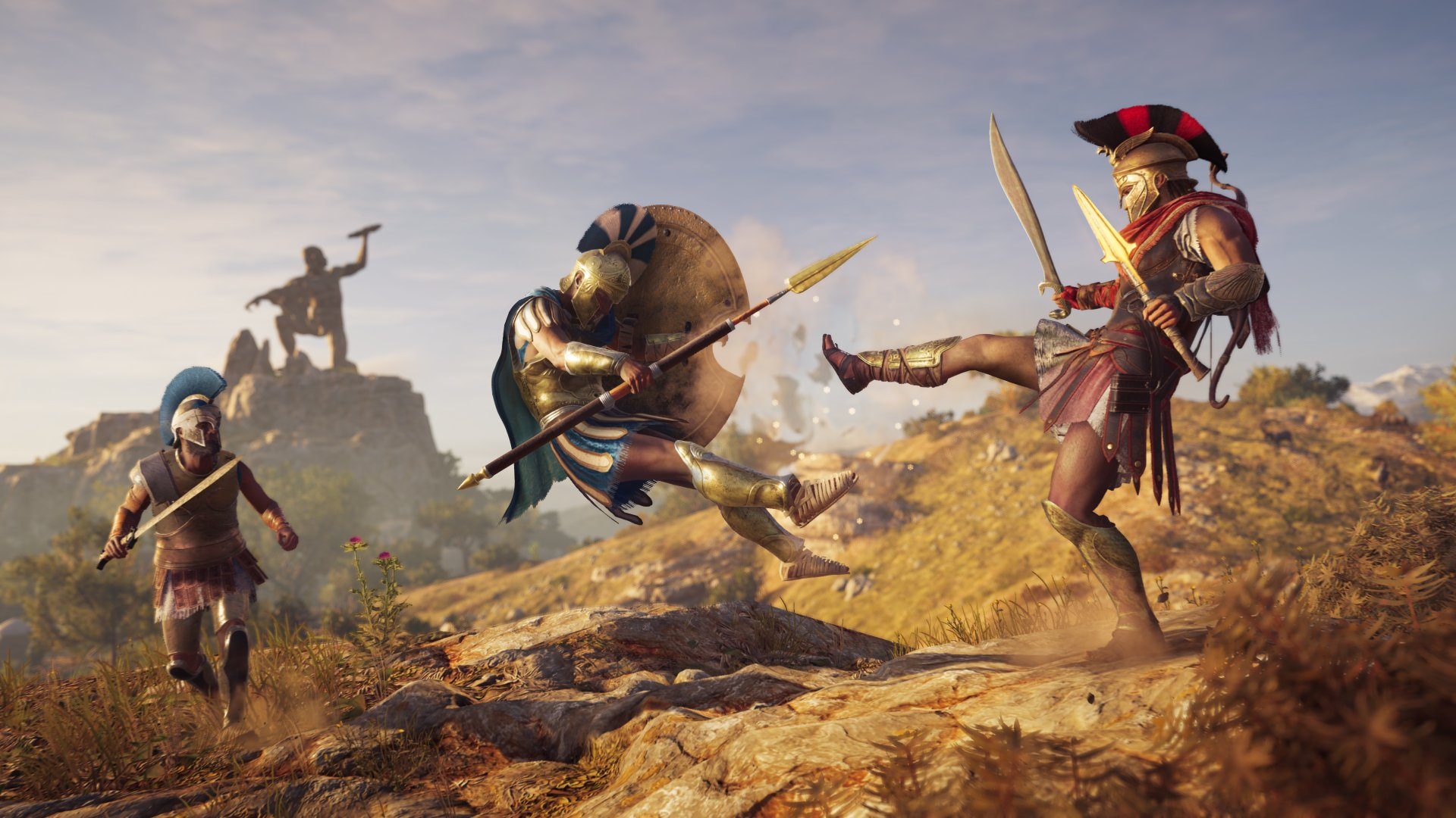 Assassin's Creed Odyssey PS4 Gameplay: