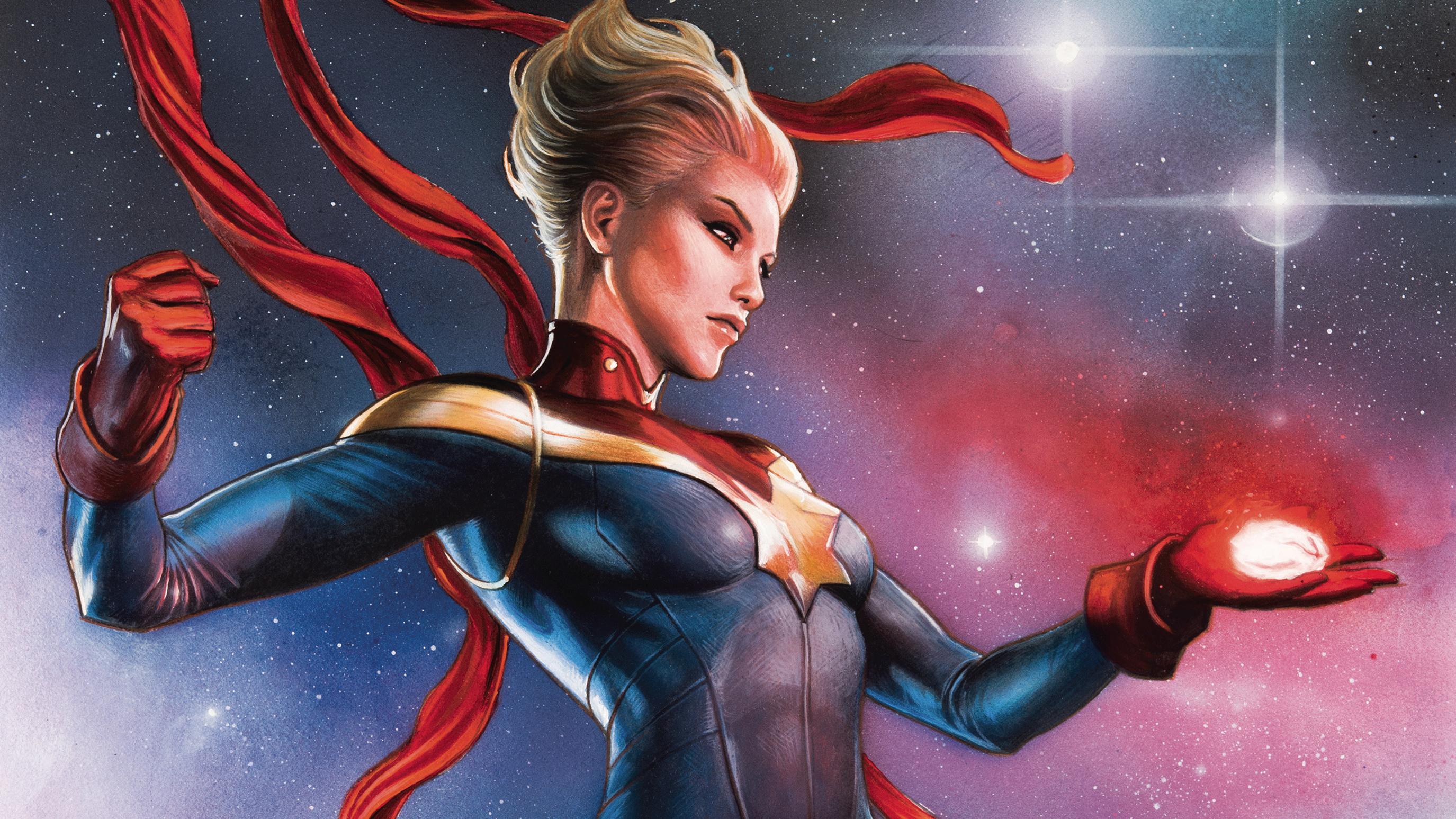 Captain Marvel Fantasy Art Wallpapers Hd Desktop And: Captain Marvel Fondo De Pantalla HD