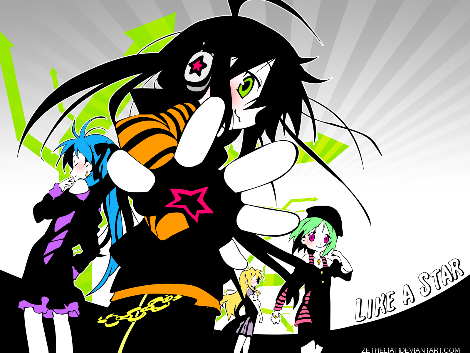 Anime - Lucky Star  Wallpaper