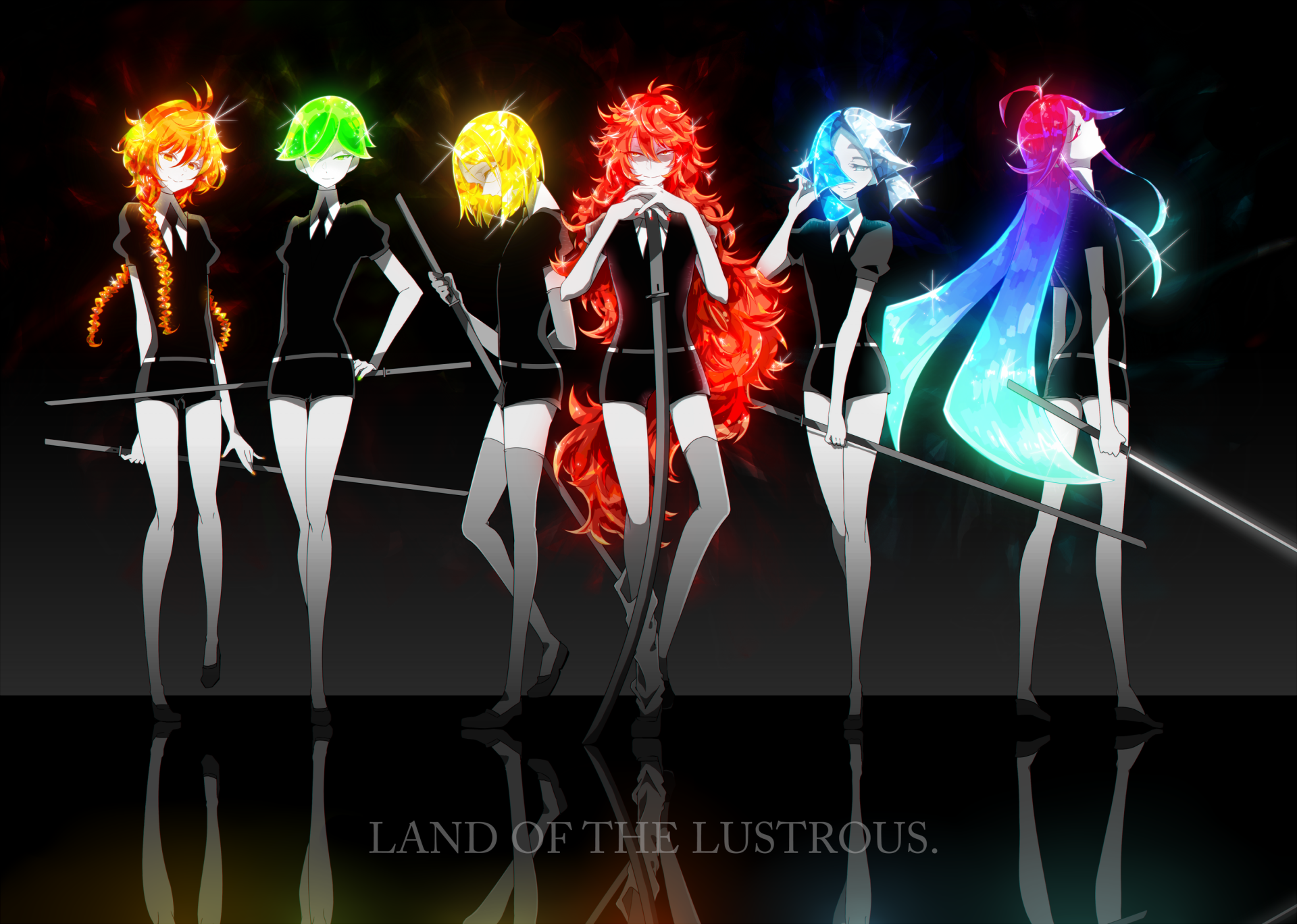 8 Padparadscha Houseki No Kuni Hd Wallpapers Background Images