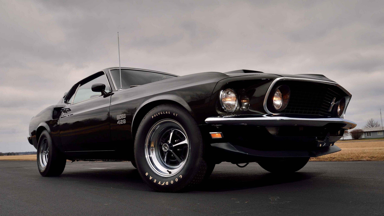 1969 Ford Mustang Boss 429 Fondo De Pantalla Hd Fondo De
