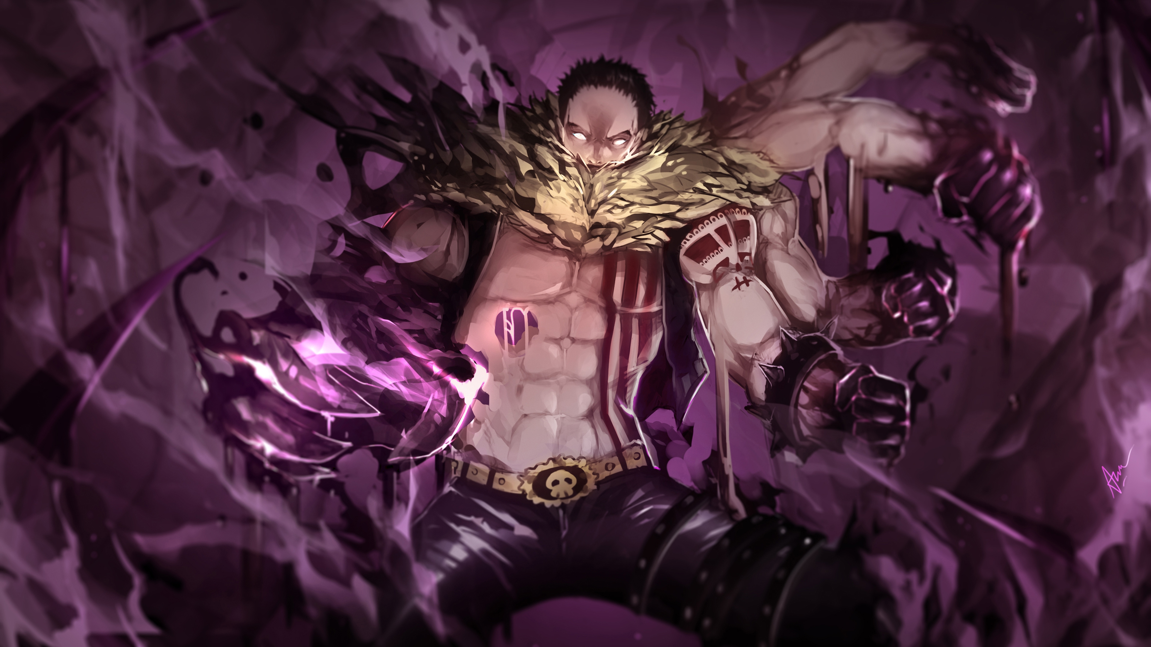 Charlotte Katakuri 4k Ultra HD Wallpaper
