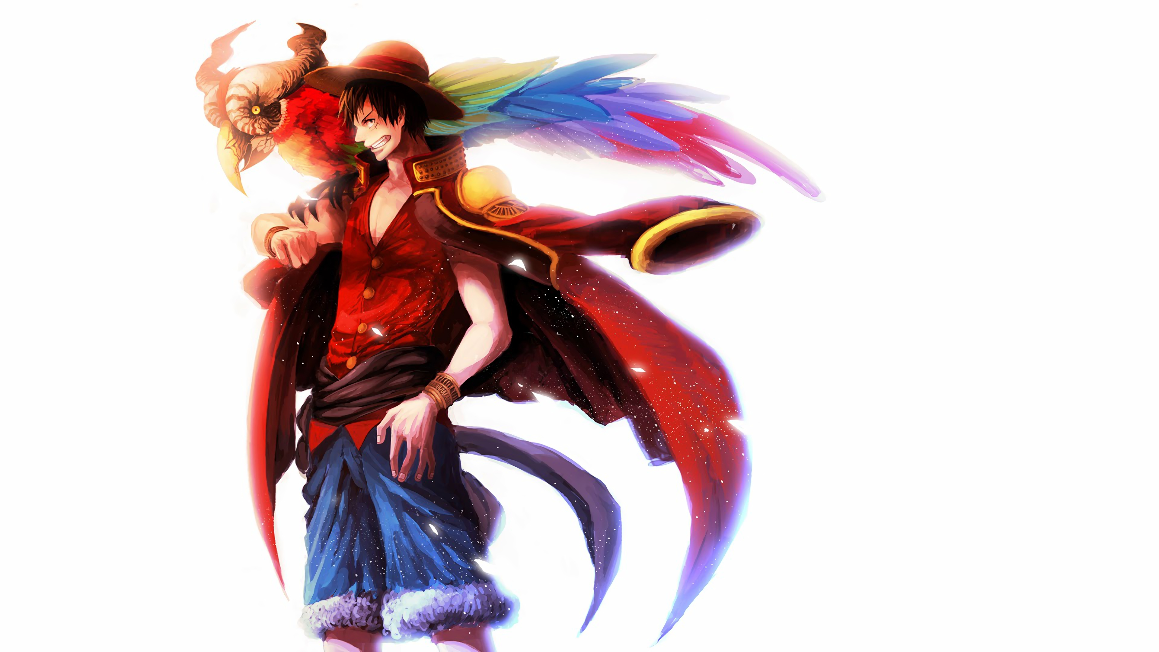 Monkey D Luffy 4k Ultra Hd Wallpaper Background Image 3840x2160