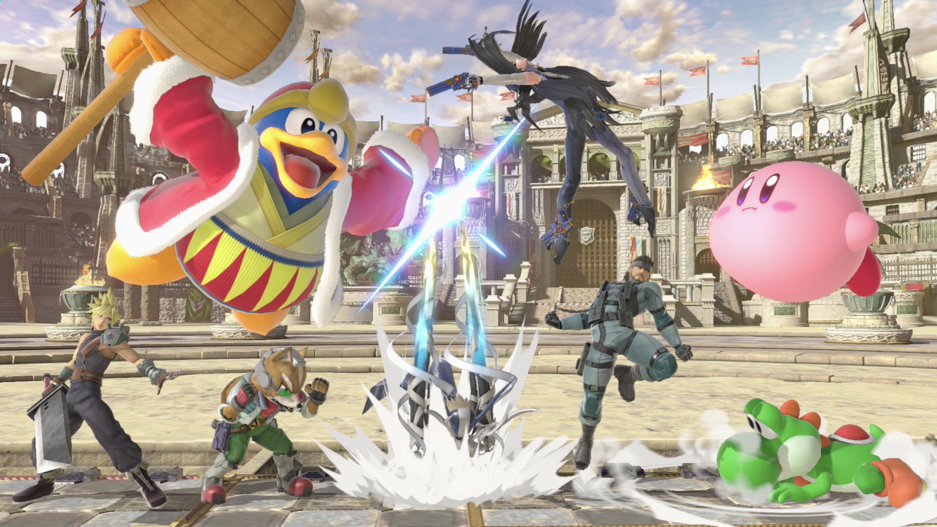 Super Smash Bros Ultimate Hd Wallpaper Background Image