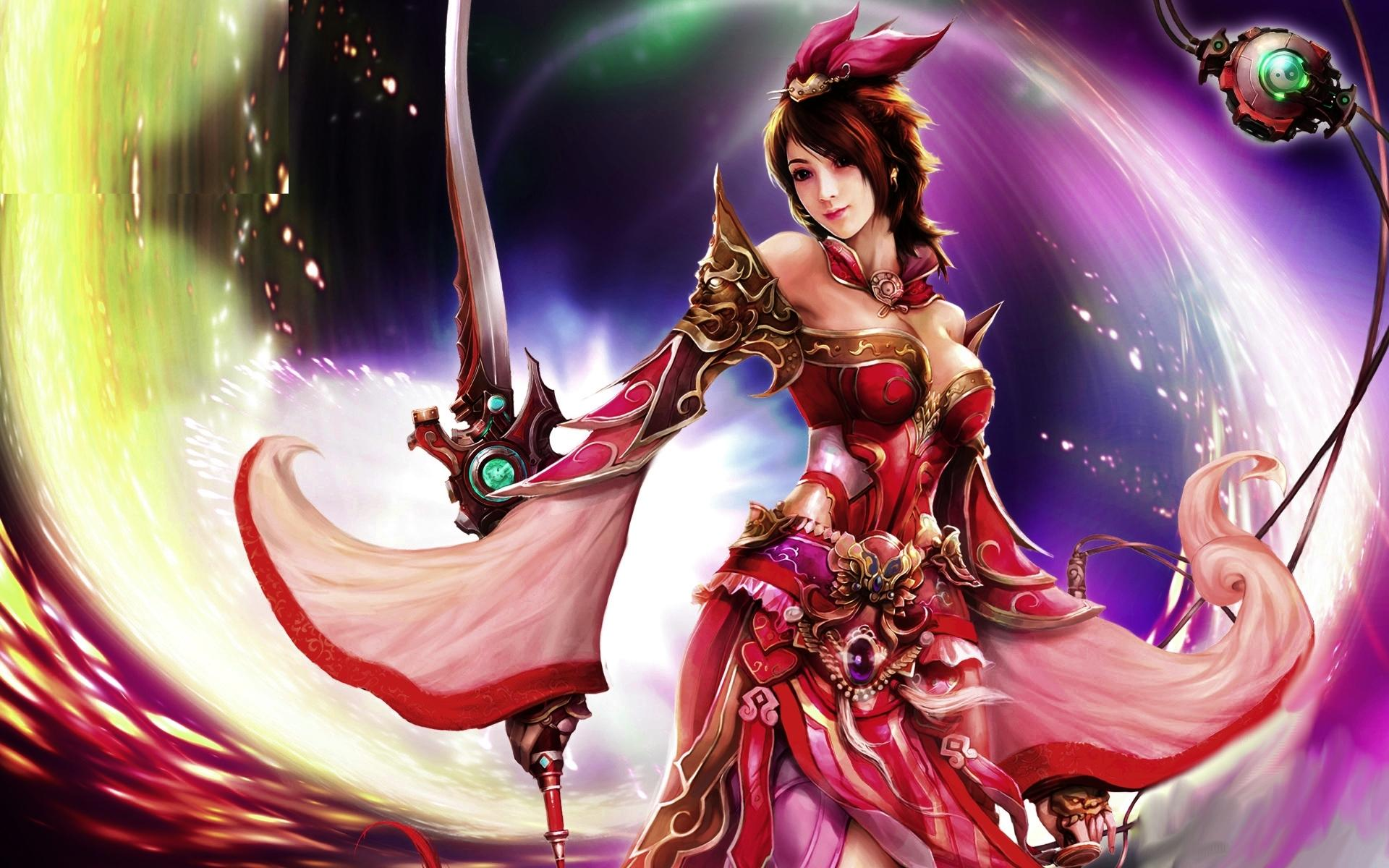 fantasy warrior woman hd wallpaper | background image | 1920x1200