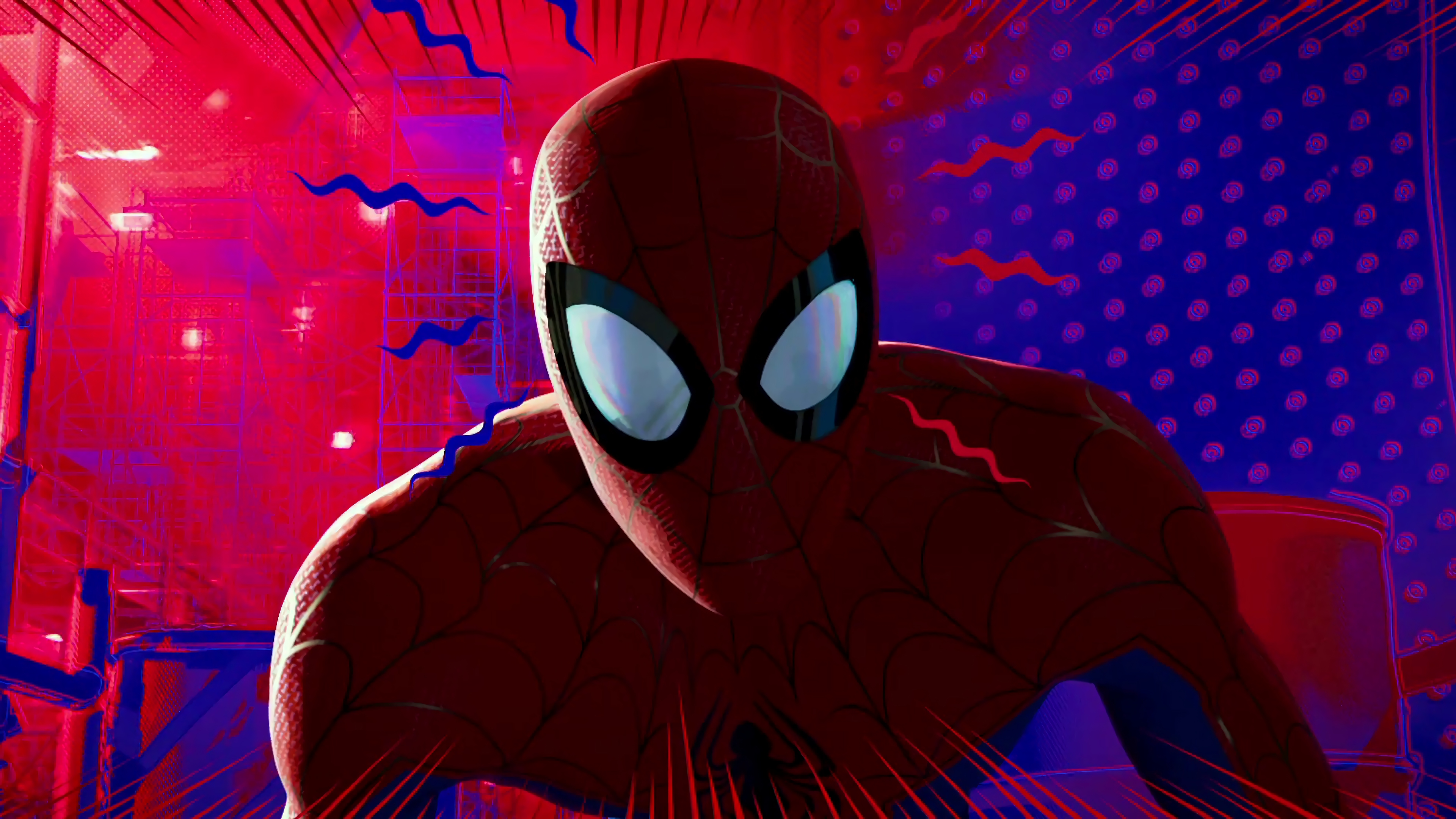 Spider Man Into The Spider Verse 4k Ultra Hd Wallpaper Background