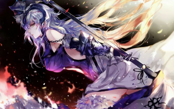 Anime Fate/Grand Order Fate Series Jeanne d'Arc Alter HD Wallpaper | Background Image