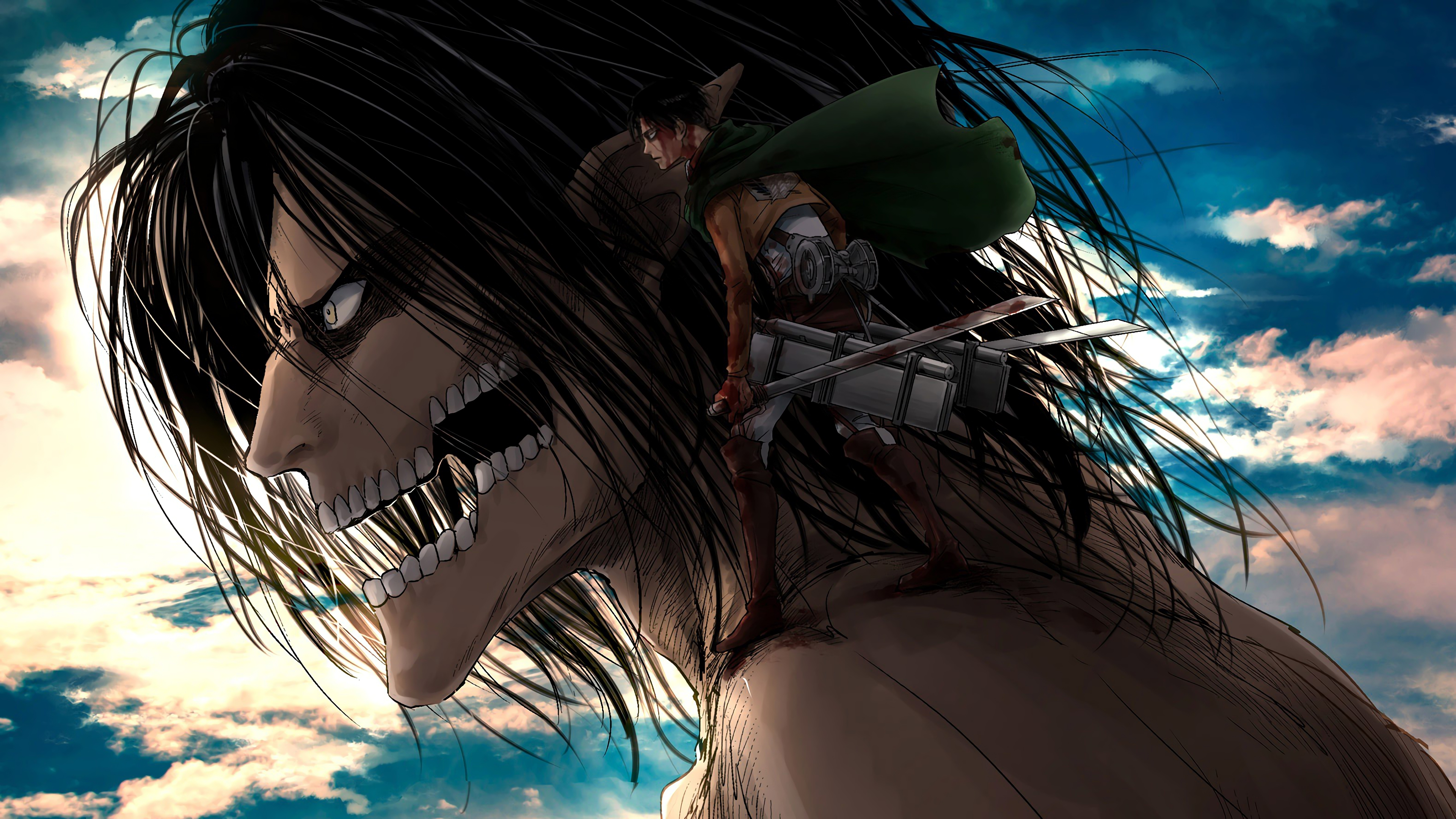 Attack On Titan 4k Ultra HD Wallpaper