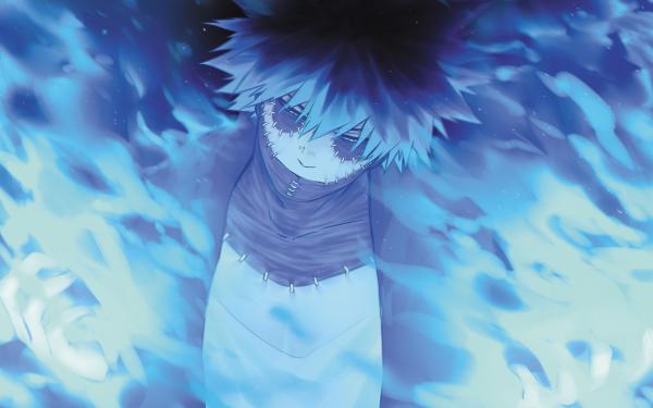 Anime My Hero Academia Dabi Scar Black Hair Fondo de pantalla HD | Fondo de Escritorio