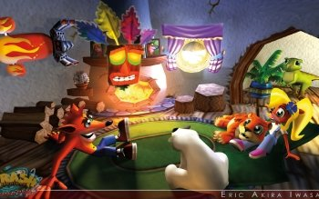 Crash Bandicoot 3: Warped HD Wallpapers