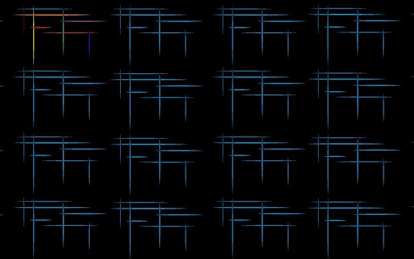 Abstract Pattern Black Blue Colors HD Wallpaper | Background Image
