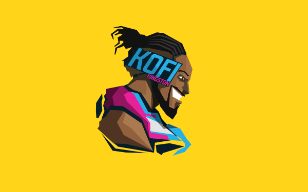 Sports WWE Kofi Kingston HD Wallpaper   Background Image