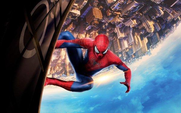 Film The Amazing Spider-Man: le destin d'un Héros Spider-Man Bâtiment Fond d'écran HD | Arrière-Plan