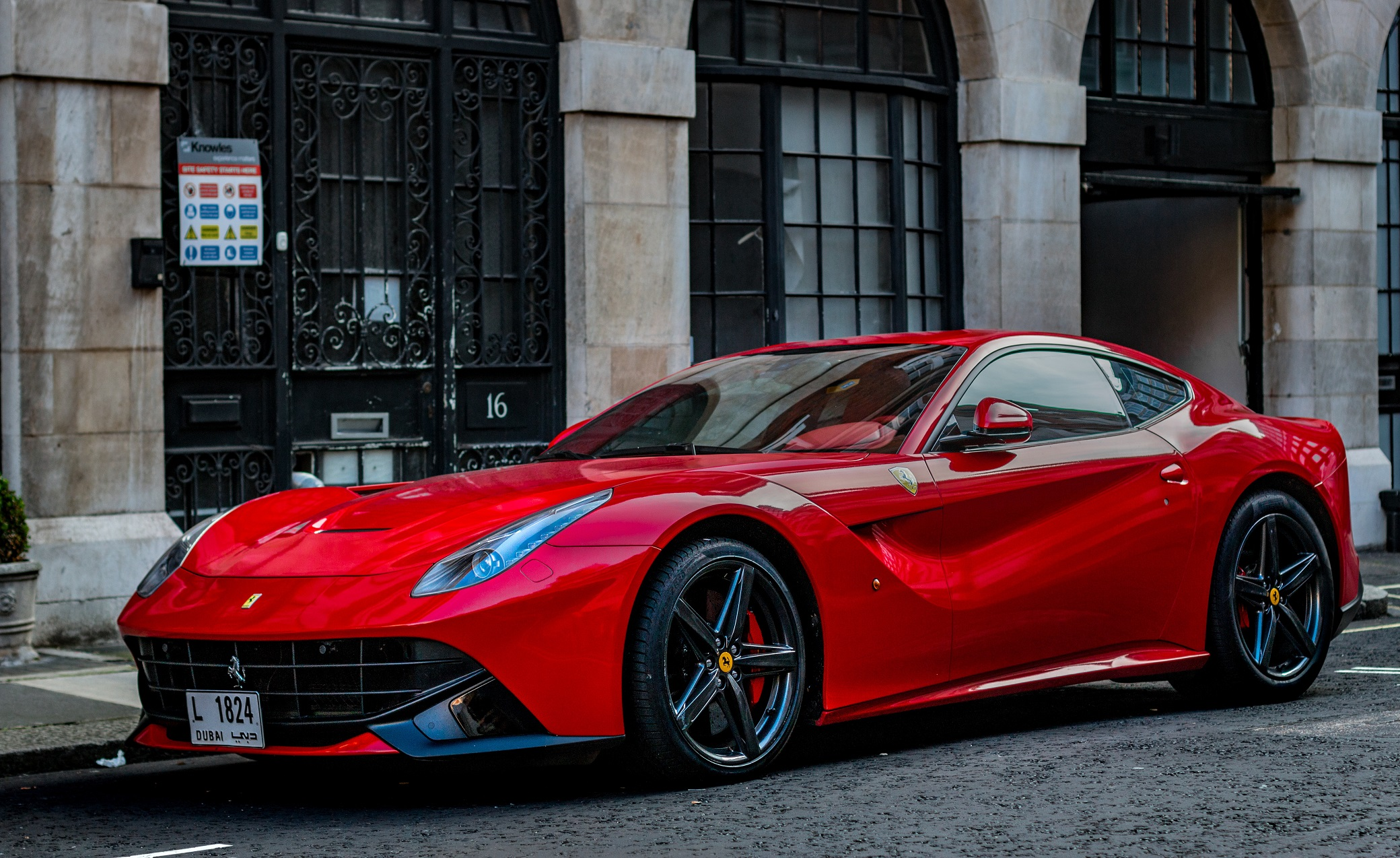 Red Ferrari F12berlinetta Sports Car HD Wallpaper ...