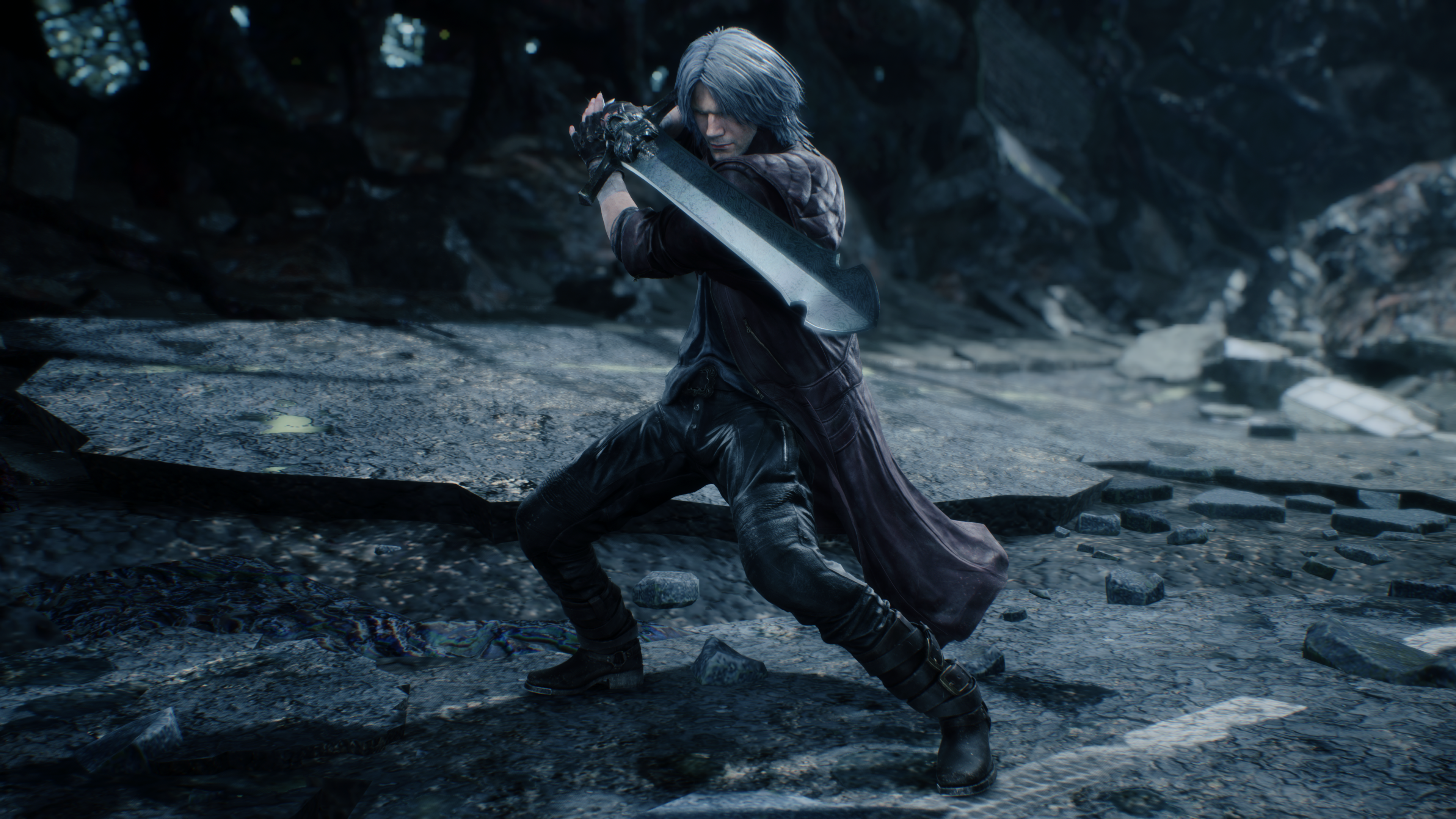 Devil May Cry 5 Dante Action 4k Ultra Hd Wallpaper