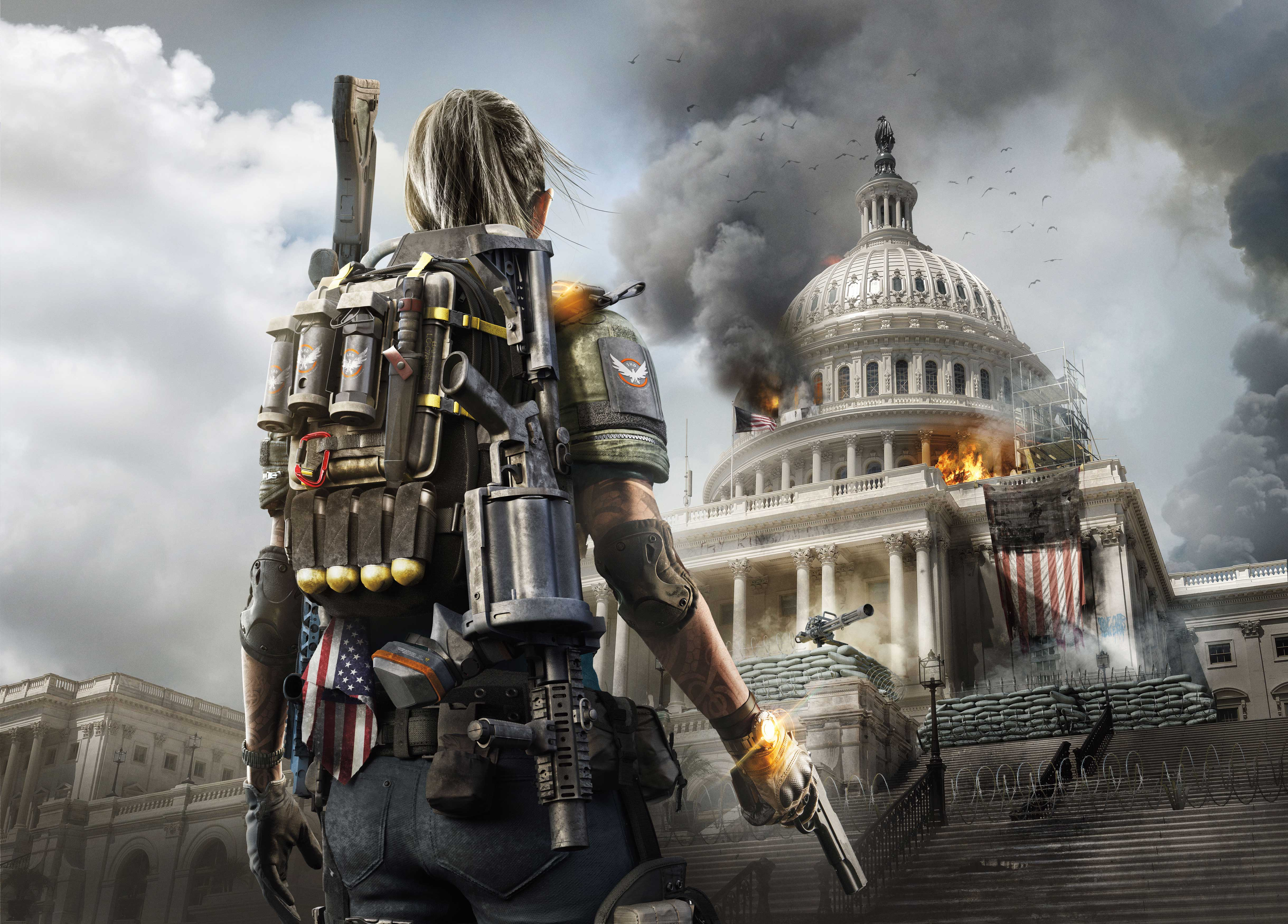 Tom Clancy's The Division 2 4k Ultra HD Wallpaper ...