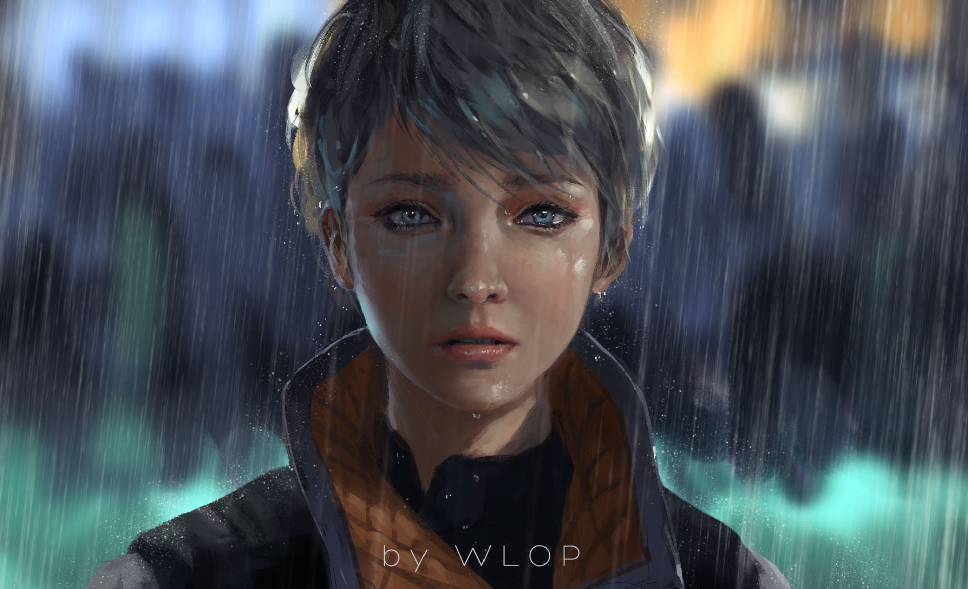Detroit Become Human Hd Wallpaper Background Image 1920x1169