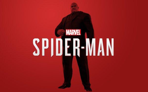 Video Game Spider-Man (PS4) Spider-Man Marvel Comics Kingpin HD Wallpaper   Background Image