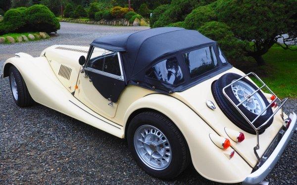 Vehicles Morgan Plus 8 Sport Car Roadster Vintage Car Car HD Wallpaper | Background Image