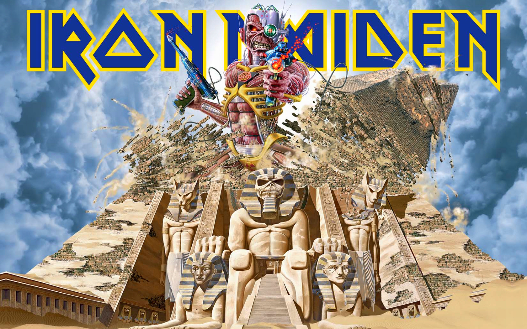 Iron Maiden Wallpaper and Background Image | 1680x1050 ...