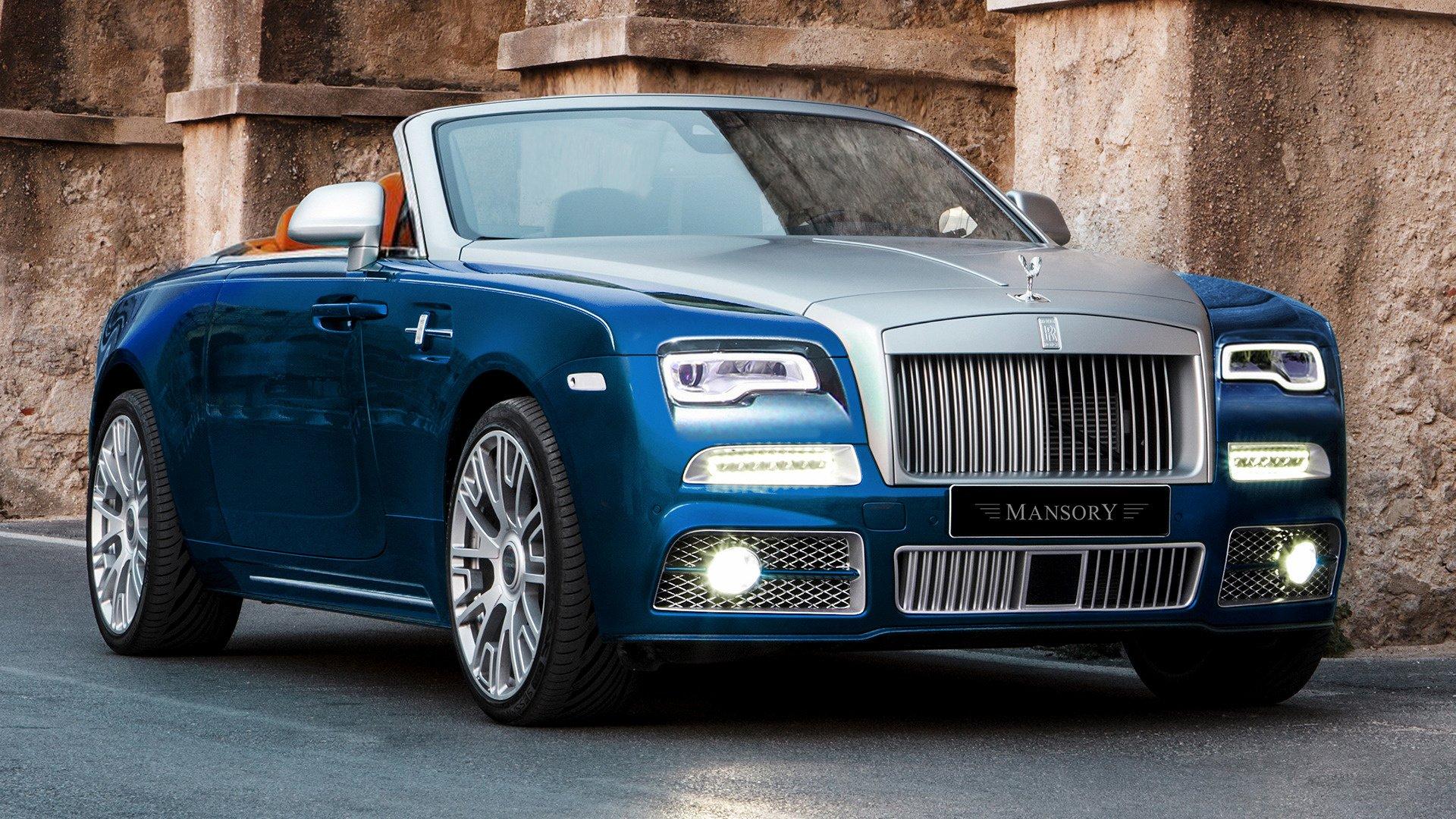 2016 Rolls-Royce Dawn by Mansory HD Wallpaper   Background ...