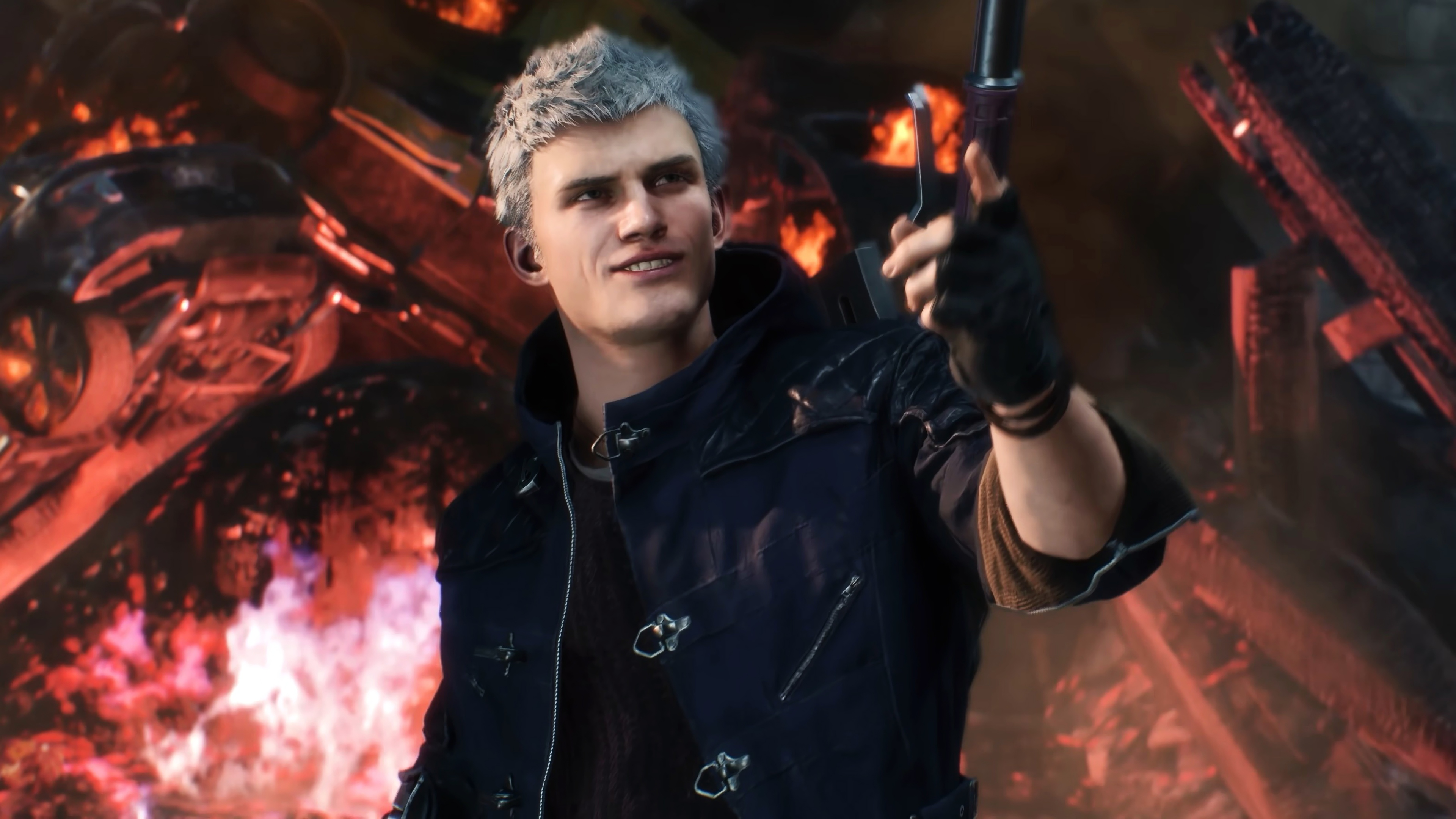 Devil May Cry Nero 4k Ultra Hd Wallpaper Background Image