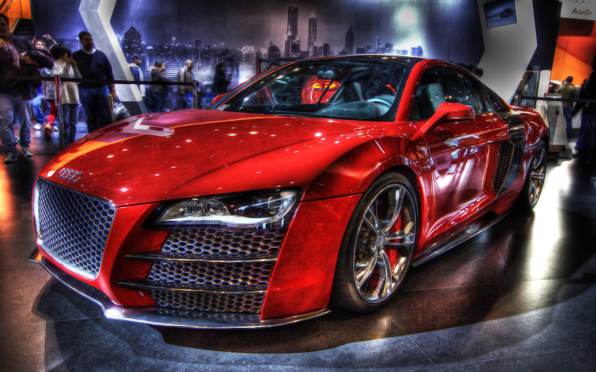 Vehicles - Audi  Wolf Wallpaper