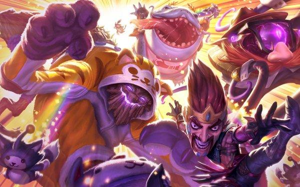 Video Game League Of Legends Draven Vel'koz HD Wallpaper   Background Image