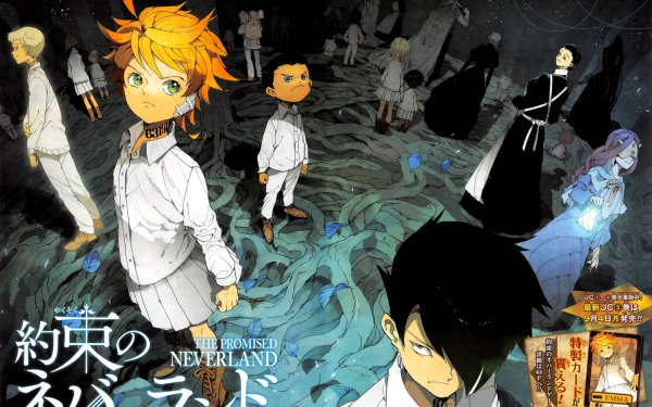 Emma Ray And Norman From The Promised Neverland Wallpaper For Dekstop Hd Wallpaper Background Image 1920x1080 Id 998744 Wallpaper Abyss
