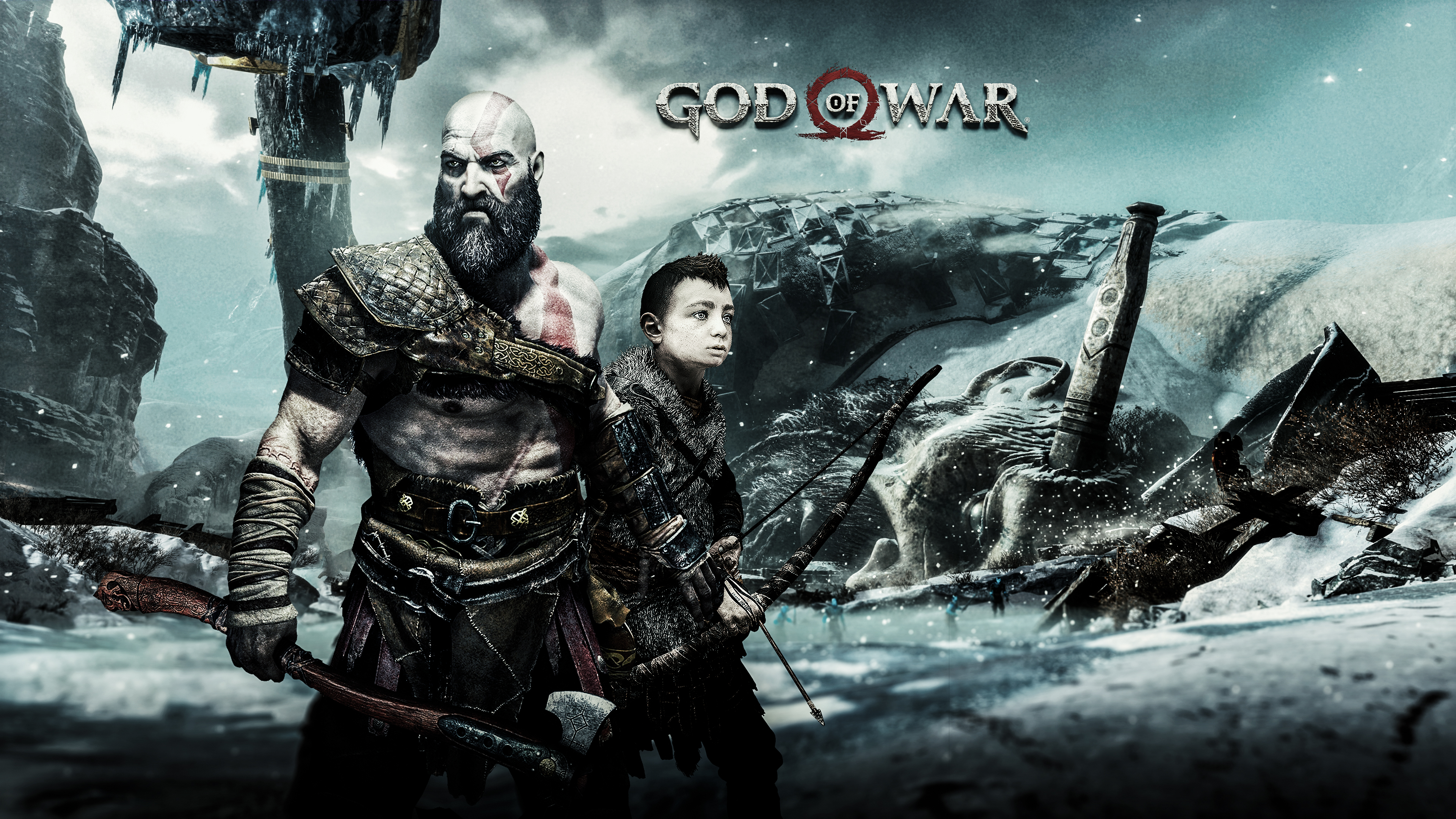 God Of War Ps4 4k Ultra Hd Wallpaper Background Image