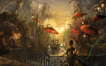 Fantasy - City Wallpapers and Backgrounds ID : 94716