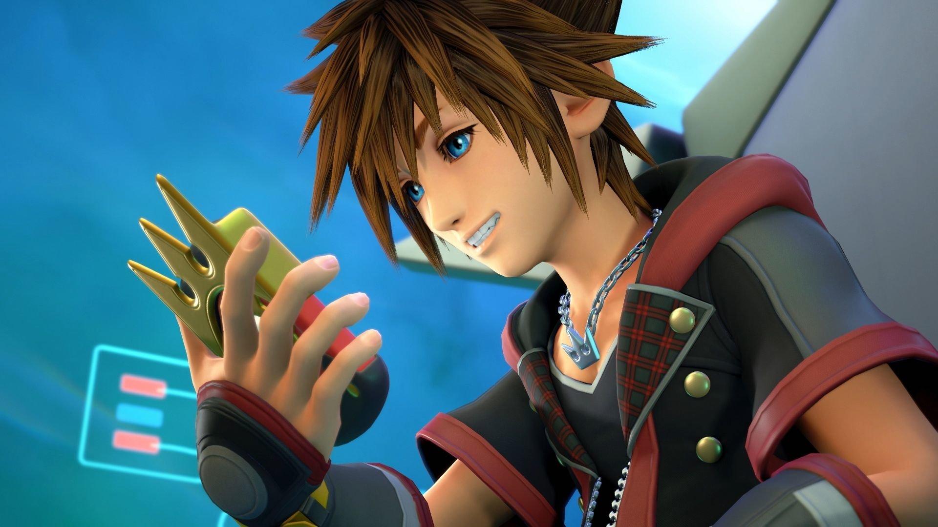 Kingdom Hearts Iii Sora Hd Wallpaper Background Image