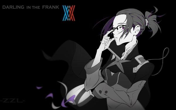Anime Darling in the FranXX Ikuno Glasses Chica Fondo de pantalla HD | Fondo de Escritorio