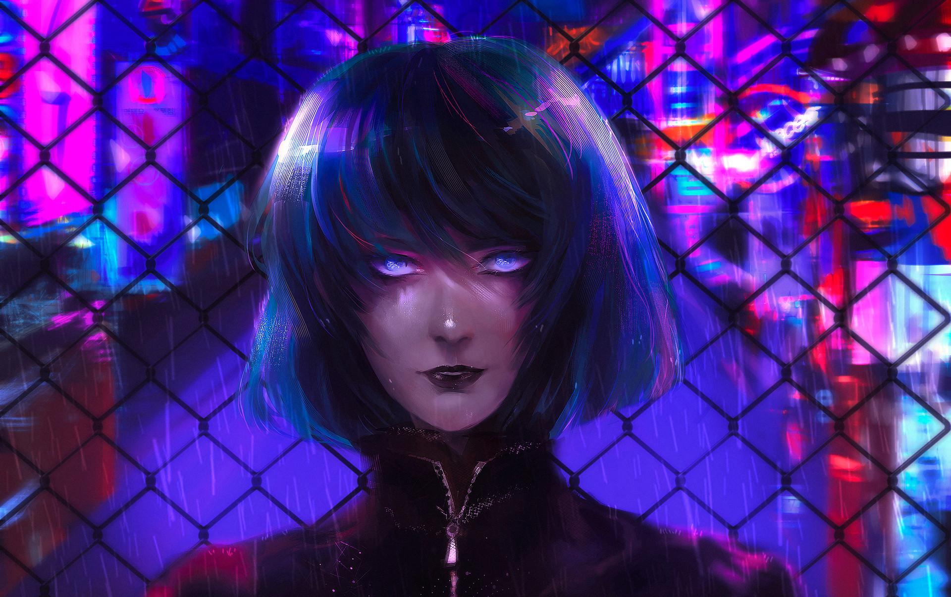 Cyberpunk Girl HD Wallpaper | Background Image | 1920x1207 ...