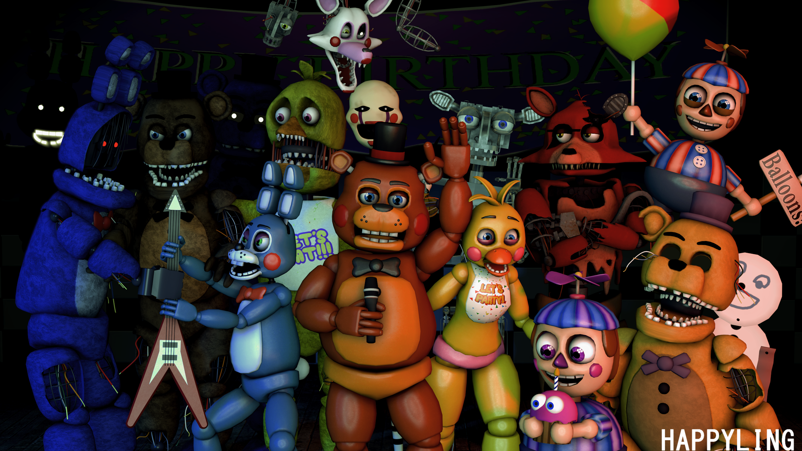 Five Nights At Freddy S 2 Hd Wallpaper Background Image
