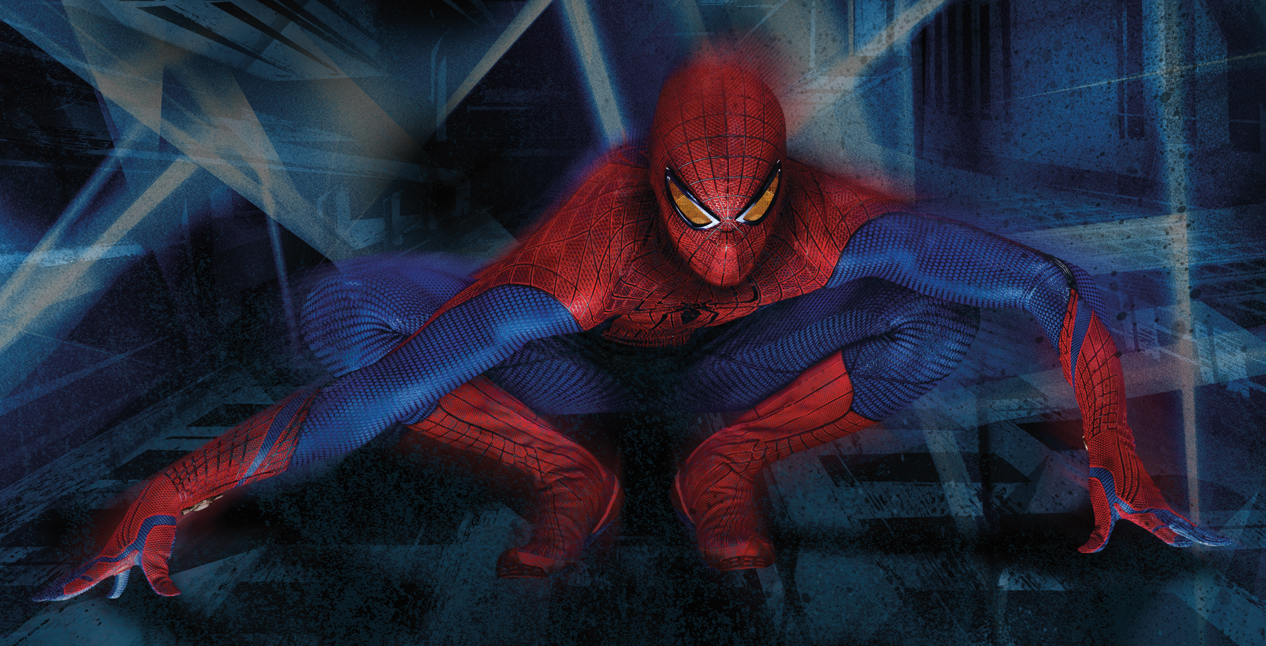 The Amazing Spider Man Hd Wallpaper Background Image 2524x1288