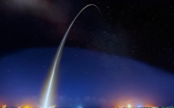 Sci Fi Space Stars Cloud Launching Pad HD Wallpaper | Background Image