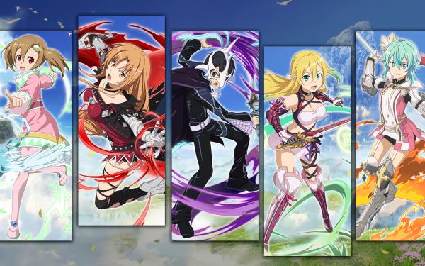 Anime Sword Art Online Sword Art Online: Memory Defrag Tales of Zestiria Tales of Berseria Kirito Asuna Yuuki Leafa Sinon HD Wallpaper | Background Image