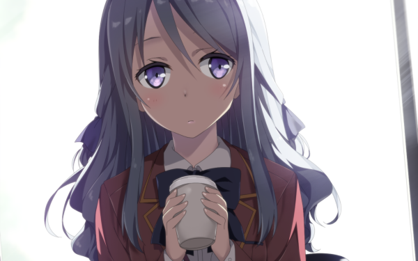 Anime Classroom of the Elite Hiyori Shiina HD Wallpaper | Background Image