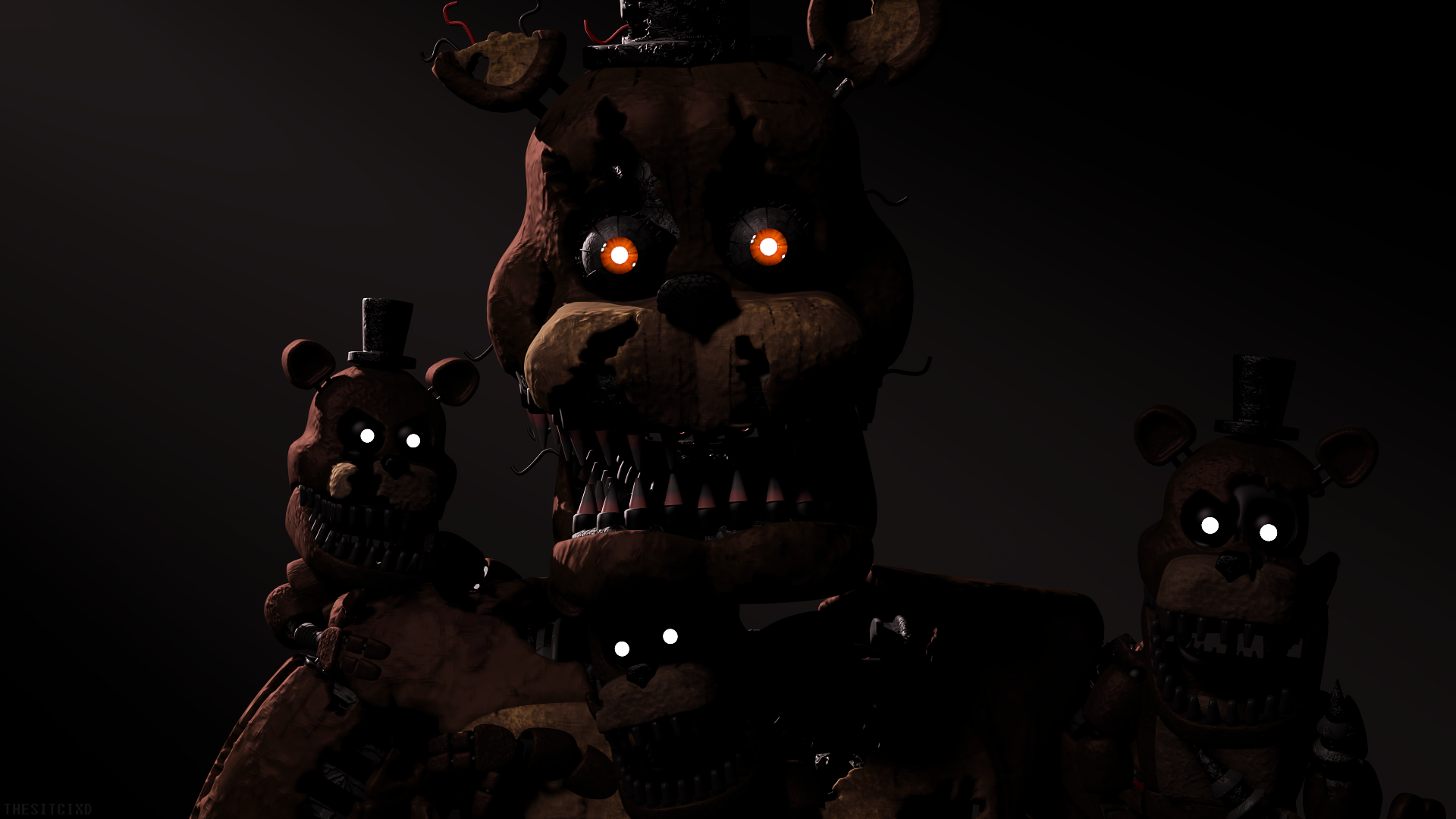 Five Nights At Freddy S 4 Hd Wallpaper Background Image
