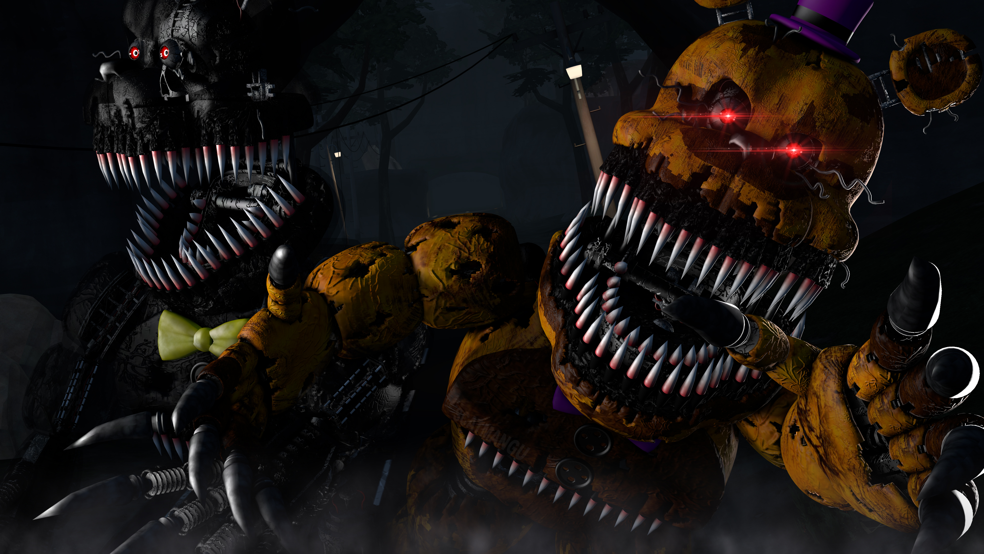 Five Nights At Freddy S 4 4k Ultra Hd Wallpaper Background Image